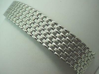 """Speidel Mens Vintage Watch Band Stainless Full Expansion 17.5mm-22mm 11/16""""-7/8"""" • £27.16"""
