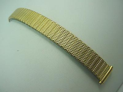 "JB Champion Ladies Vintage Watch Band Gold Filled 11mm-14mm 1/2"" 100% Expansion"