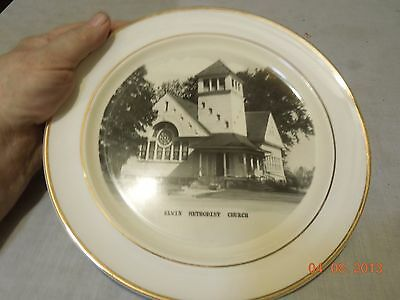 Elwin Methodist Church of Decatur, IL Collector's Plate!