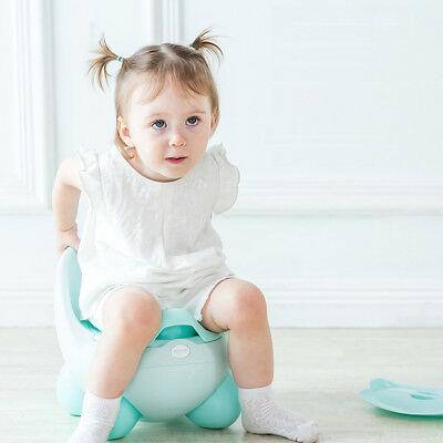 Babyyuga Potty Chair Baby Kids Children's Travel Potty with Lid - Egg Blue