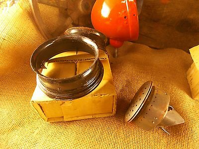 New Old Stock Perfection Kerosene Oil Stove Blue Chimney Support COLLAR in box
