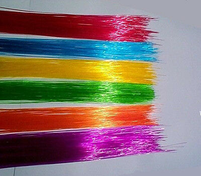 150ft Colored FIBER OPTIC FIBER awesome lighting Projects + FREE illuminator  b4
