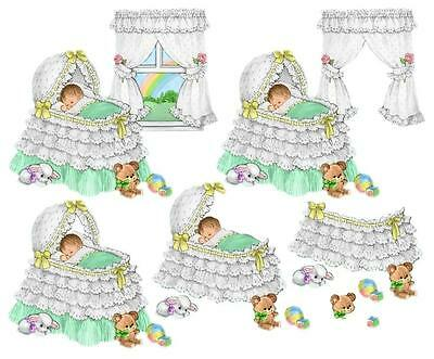 205 Decoupage Baby & Christening  Sheets Arts And Crafts  On Cd