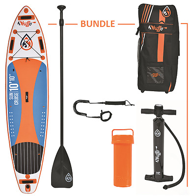 Aqua Marina Fusion Inflatable Stand Up Paddle Board SUP Package Inc Paddle