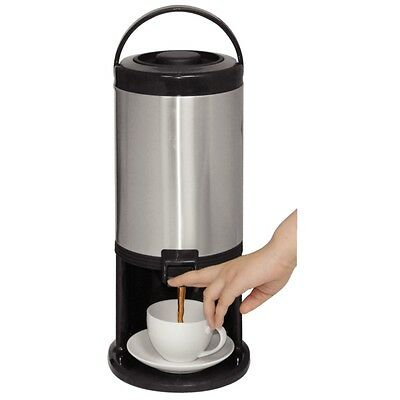 3Litre Insulated Beverage Dispenser, Portable airpot is suitable for hot & cold