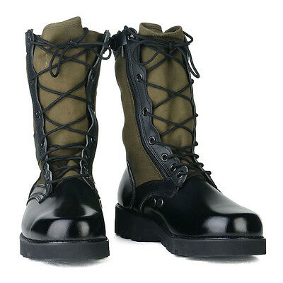 Boots Jungle GI Desert Combat Tactical Police Security Swat Size 7~12 M