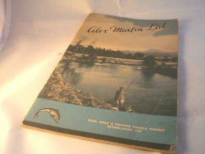 A Vintage Alex Martin Advertising Fishing Catalogue For 1951