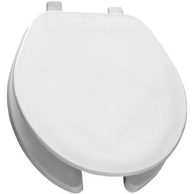 Bemis 75 000 Round Open Front Toilet Seat in White