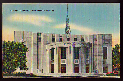 1994 INDIANAPOLIS IN Naval armory Postcard Show Postcard PC