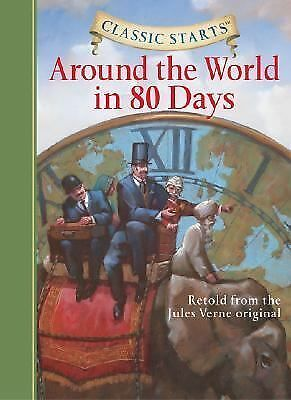 Around the World in 80 Days by Jules Verne (2007, Hardcover)