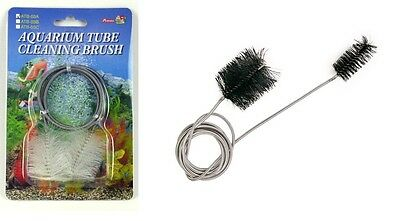 Aquarium Pipe Cleaners Fish Tank Cleaning Hard to Reach Algae Scrubber 2 Sizes