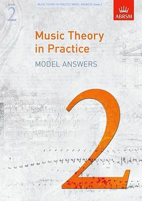 ABRSM Music Theory In Practice Model Answers Grade 2 Sheet Music Book. NEW Learn