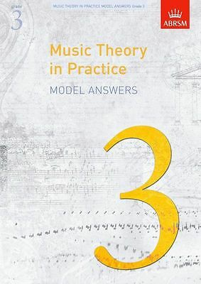 ABRSM Music Theory In Practice Model Answers Grade 3 Sheet Music Book. NEW Learn