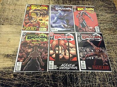 Lot Of 6 Richard Dragon DC Comic Books # 7 8 9 10 11 12 NM 1st Prints Dixon A23