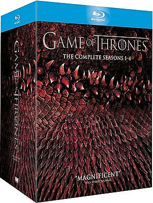 Game of Thrones 1-4 [Blu-Ray] Box Set - Seasons 1 2 3 4 Collection From HBO