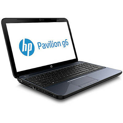 "HP Pavilion G6-2249WM AMD A6-4400M 2.7GHz 750GB 4GB 15.6"" Winter Blue Laptop"