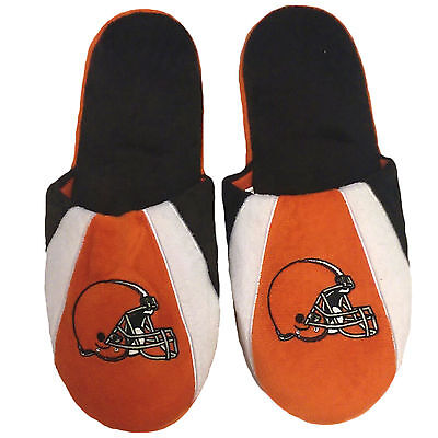 NFL Cleveland Browns Mens Slippers NWT Sizes  XL13/14