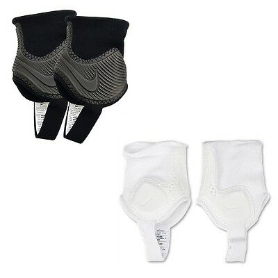 Nike SP0236-030 Ankle Guards Shields Protectors Pads ONE SIZE Adult Black,White
