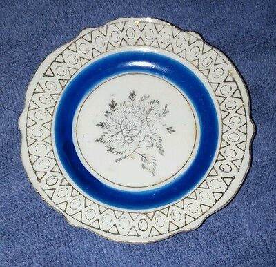 Unique Antique Beautiful Japan Made Small Plate