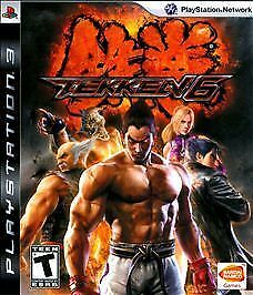 Tekken 6 Game and Case (Sony Playstation 3, 2009)