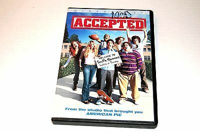 Accepted (DVD 2006 Anamorphic Widescreen) Justin Long, Blake Lively, Lewis Black