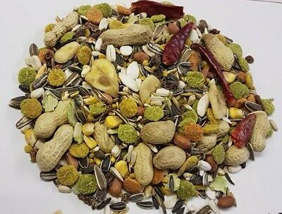 Tropical Parrot Bird Food Fruity Treat Mix Macaw Conure Reduced Free Post