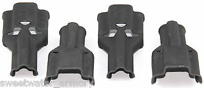Lot of 4 *BRAND NEW* USGI Stripper Clip Guides (Charger / Loader / Spoon)