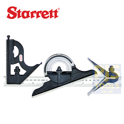 Starrett 435ME-300 300mm 12inch engineers combination square set STR435ME300