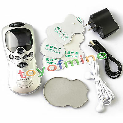 Electrical Acupuncture Stroke 4 Pads Full Body Massager Digital Therapy Machine