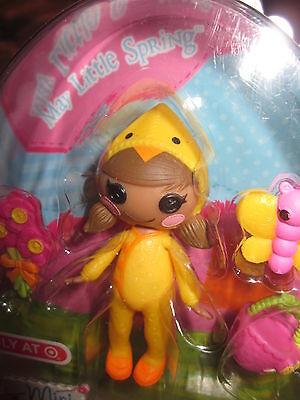 Lalaloopsy Easter MAY LITTLE SPRING Chick, Target Exclusive Basket  #417781