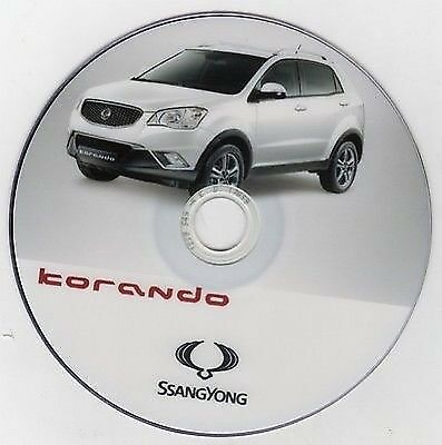 Ssangyong Korando 2010 manuale officina - workshop manual