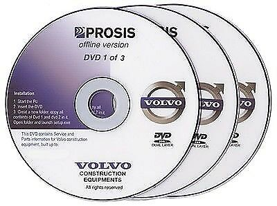 Volvo PROSIS 2013 workshop manuals & EPC collection