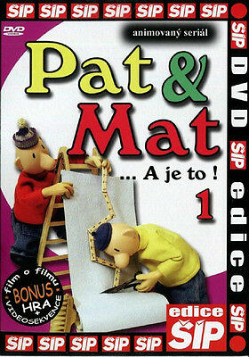 Pat & Mat A je to Collection set 6 DVD (Animated series) Czech Language