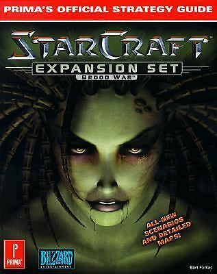 Starcraft Expansion Set: Brood War (Prima's Official Strategy Guide) Farkas, Ba