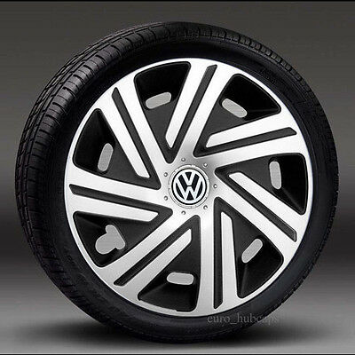 """4x14"""" wheel trims, Hub Caps, Covers to fit Vw Golf,Polo,Lupo"""