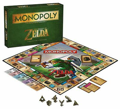 The Legend of Zelda Monopoly Board Game - Brand New!