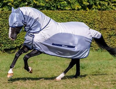 Bucas BUZZ OFF RAIN / Fly Protector Rug with Full Neck