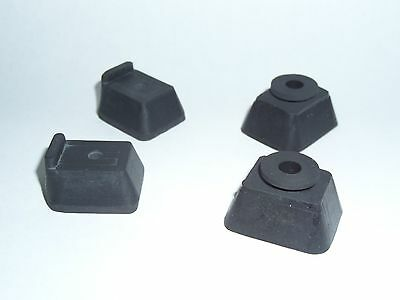 Typewriter Repair  New Replacement Rubber Feet for Underwood Champion & others