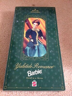 SPECIAL EDITION Hallmark 1996 YULETIDE ROMANCE Barbie Doll MINT/NEW/SEALED