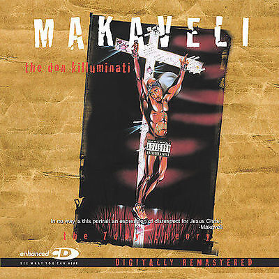 The 7 Day Theory [PA] by 2Pac/Makaveli (CD, May-2001, Death Row (USA))