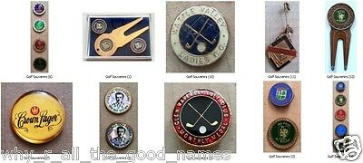 ST. ANDREWS Souvenir GOLF Accessories - Ball Markers / Divot Tools / Medallions