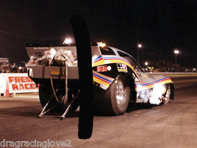 "Tom ""Mongoose"" McEwen 1979 ""English Leather"" Corvette NITRO Funny Car PHOTO!"