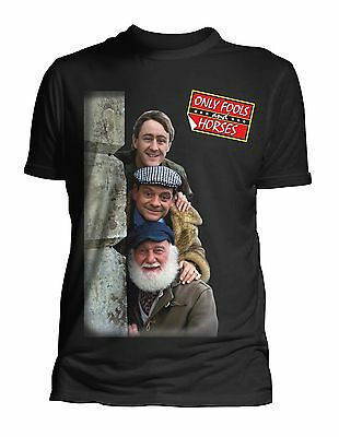 Only Fools and Horses The Three Trotters  Official T Shirt