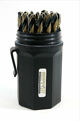 "New Norseman 29pc Magnum Super Premium drill bit set 1/16"" to 1/2"" #66820"