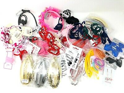 309 Pack of Mixed Hair Accessories Bundle Bulk Buy Wholesale Job Lot Retail