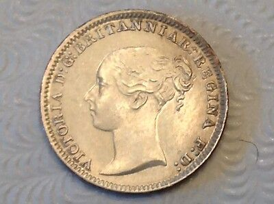 - Great Britain 1882 Victoria Silver Maundy Penny – Choice uncirculated