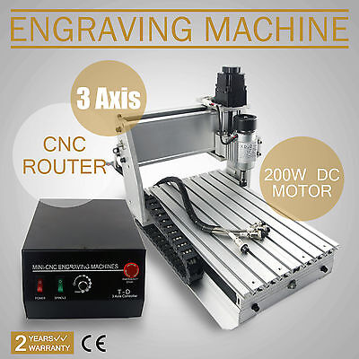 New Mini Computer Controlled CNC 3020T 3 Axis Router Engraver Machine Engraving