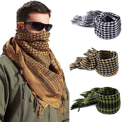 110x110cm Army Military Tactical Arab Shemagh KeffIyeh Shawl Scarves Scarf Wrap