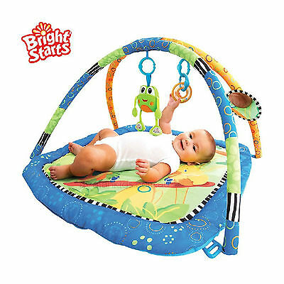 Bright Stars Hop Along Friends Play Mat Newborn Baby Toddler Activity Gym