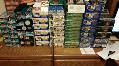 Great Lot of 150 OLD Unopened HOCKEY Cards in Packs